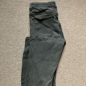 Army Green Jeans from Zara